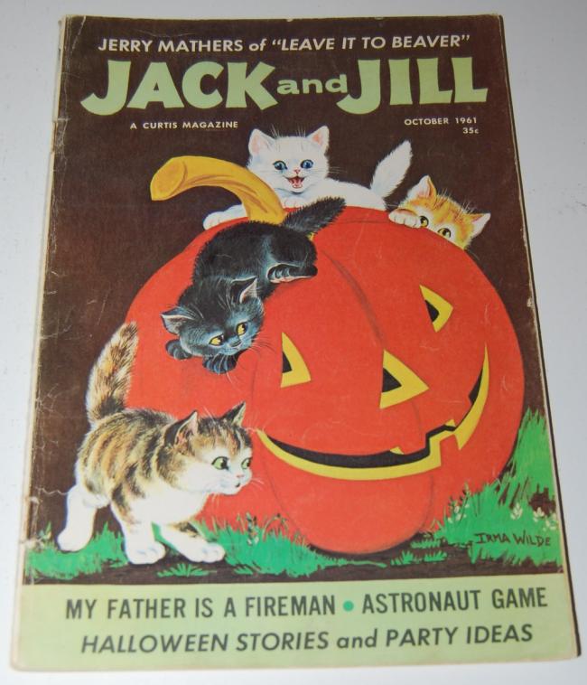 jack & jill magazine ~ october 1961