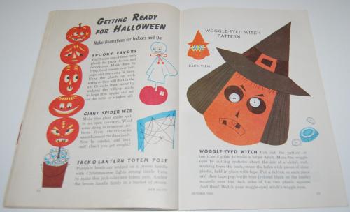 Jack & jill magazine october 1960 20