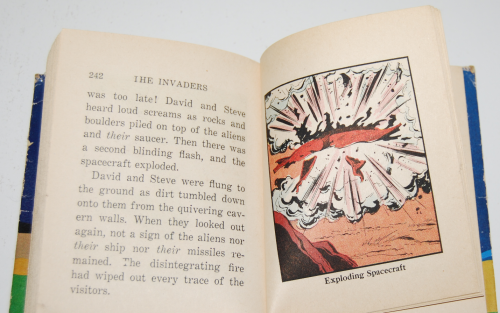 The invaders 1967 big little whitman book 13