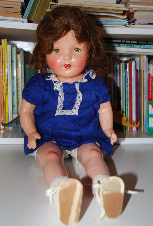 Vintage composition doll 3