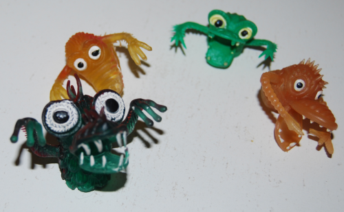Finger puppet monsters 2