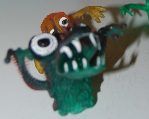 Finger puppet monsters 3