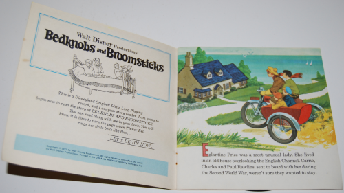 Disney bedknobs & broomsticks vinyl record 1