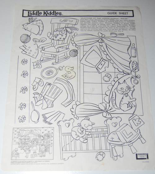 Lakeside liddle kiddles electric drawing set 6