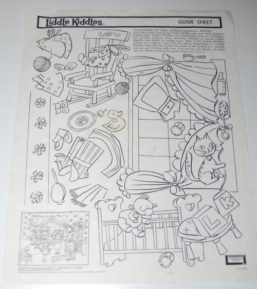 Lakeside liddle kiddles electric drawing set 6