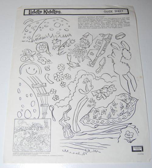 Lakeside liddle kiddles electric drawing set 7
