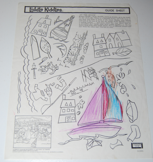 Lakeside liddle kiddles electric drawing set 10
