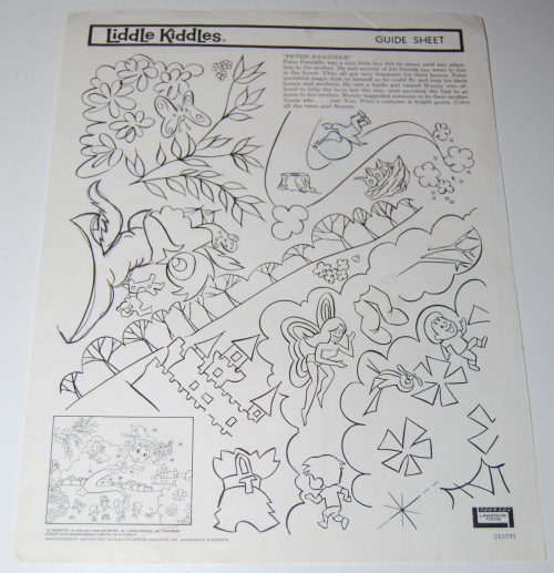 Lakeside liddle kiddles electric drawing set 12