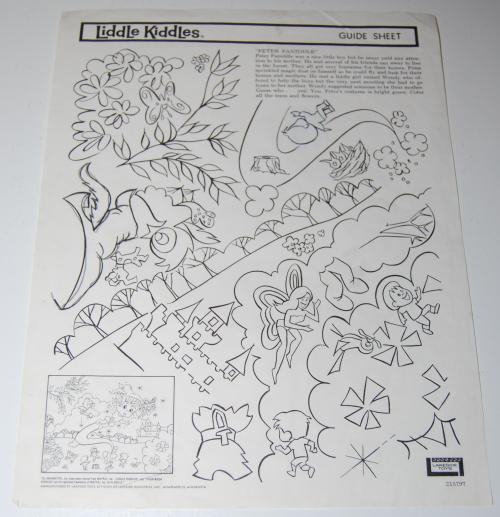 Lakeside liddle kiddles electric drawing set 12