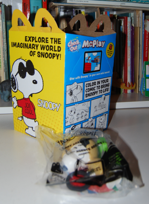 Snoopy world happy meal