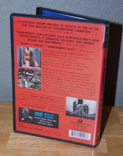 Jan svankmajer alice dvd x