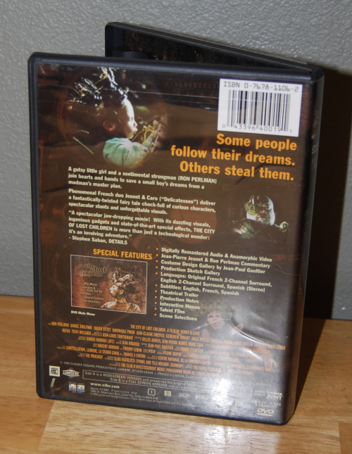 The city of lost children dvd x