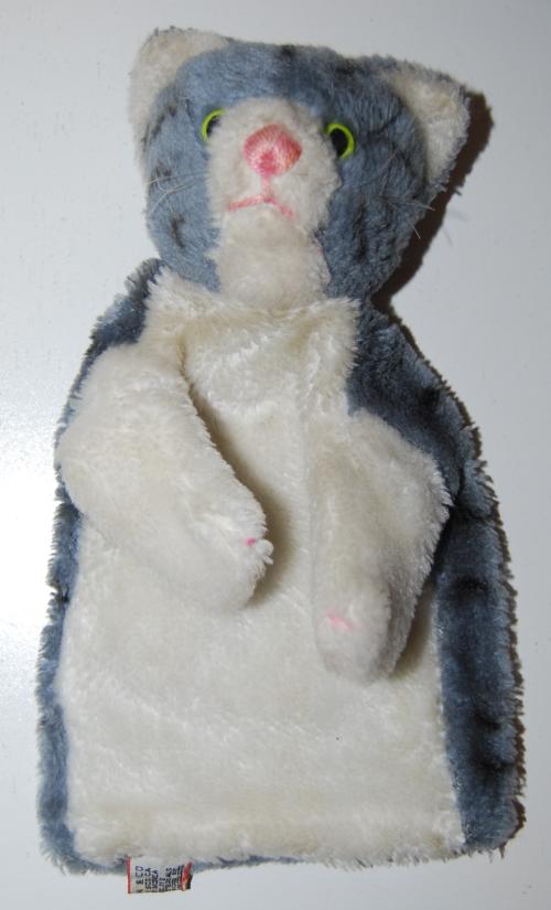 Vintage kitty puppet
