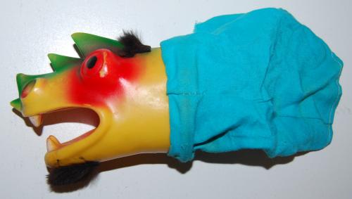 Vintage puppet x