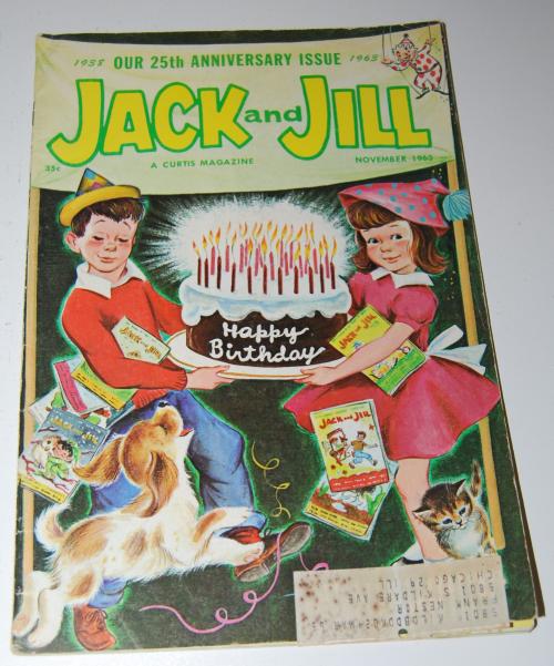 Jack & jill magazine november 1963