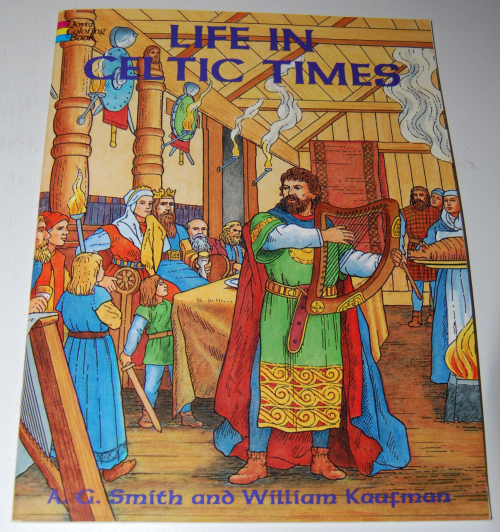 Dover coloring book celtic times