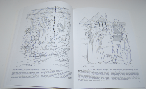 Dover coloring book celtic times 5