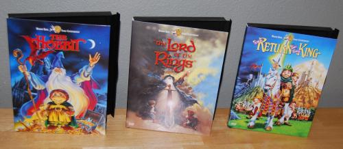 Tolkien dvds
