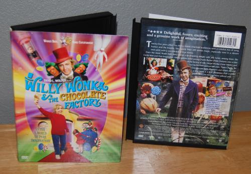 Willy wonka dvd