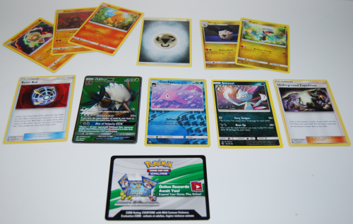 Pokemon sun & moon cards