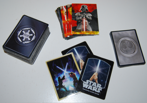 Star wars collector cards