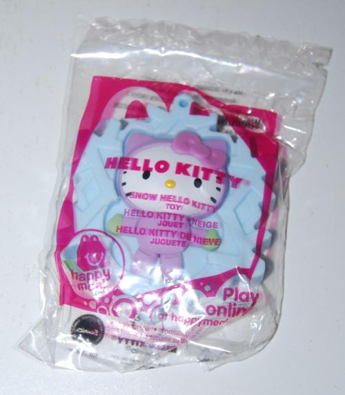 Winter hello kitty happy meal toys 3