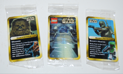 Star wars lego cards