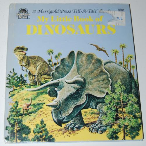 Little book of dinosaurs
