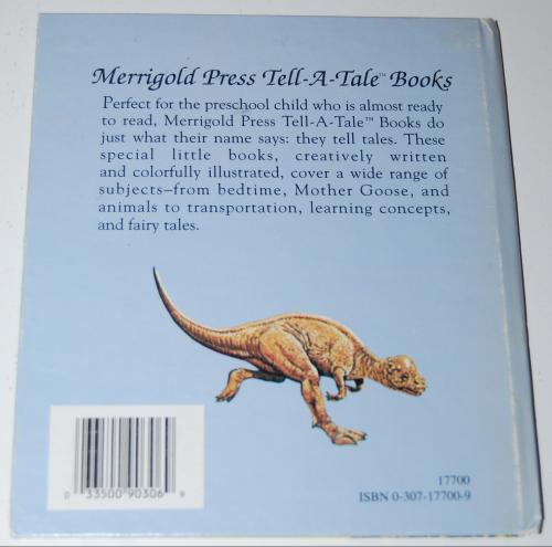 Little book of dinosaurs x