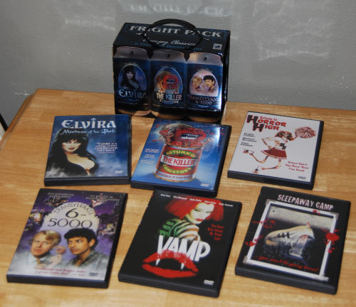B movie dvds