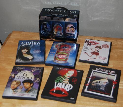 B movie dvds