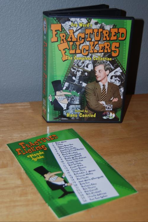 Fractured flickers dvd