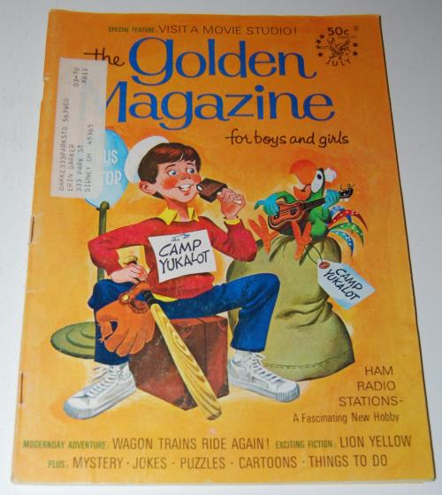 Golden magazine july 1969