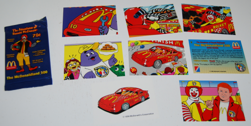 Adventures of ronald mcdonald cards