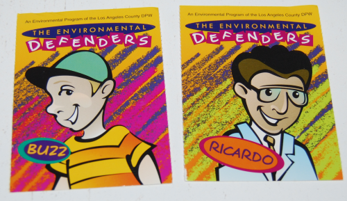 Environmental defenders cards