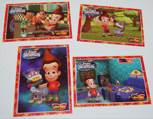 Jimmy neutron cards x