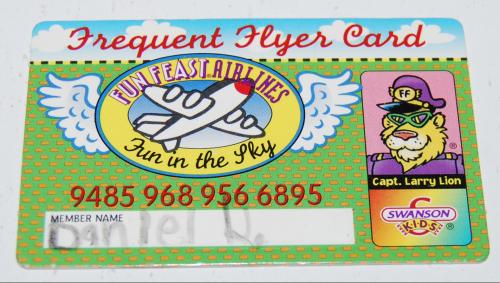 Swanson kids card