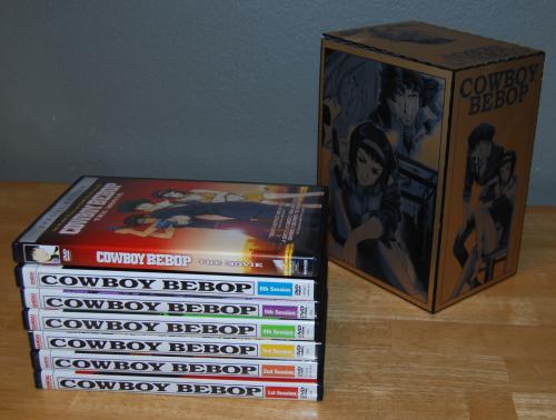 Cowboy bebop dvd set