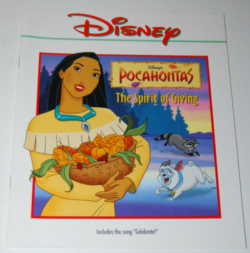 Disney book & tape 2