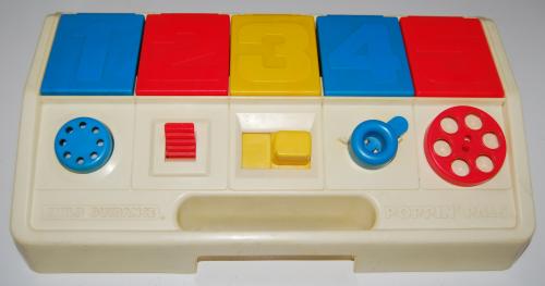 Vintage poppinpals toys child guidance