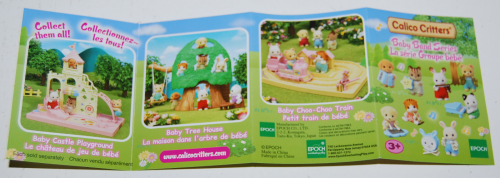 Calico critters baby band 3