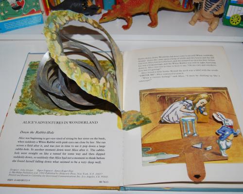Alice popup book 1