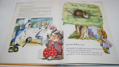 Alice popup book 6