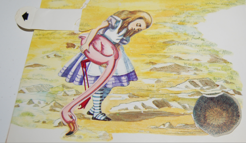Alice popup book 10