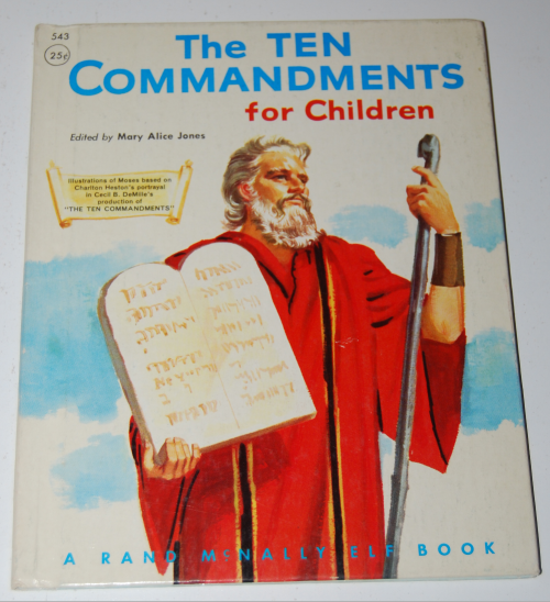Rand mcnally elf book 10 commandments