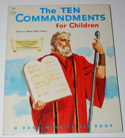 Rand mcnally elf book 10 commandments