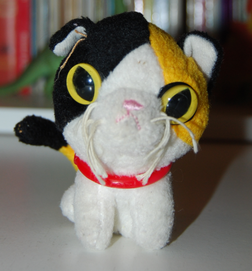 Cat happy meal toy 2005 3