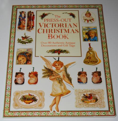 Victorian christmas pressout book