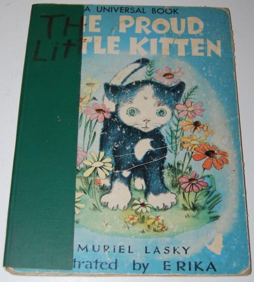 The proud little kitten
