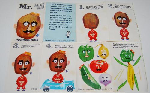 Katie the carrot & mr potatohead 1